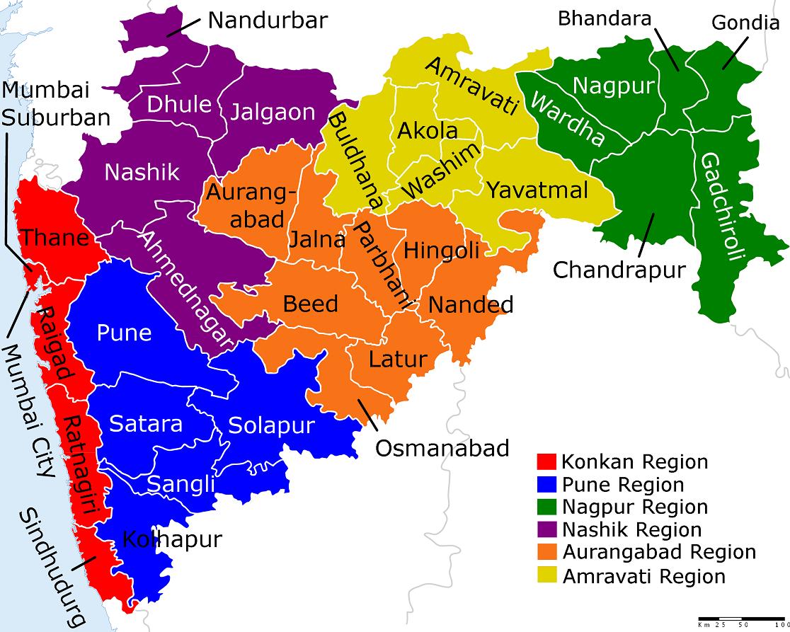 Marathi Translation Services For UK Visa Applicants From India - World map image in marathi
