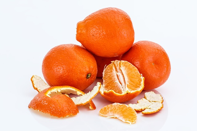Me gusta la fruta, especialmente las naranjas