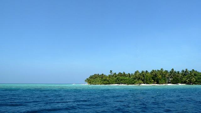 ¡Qué isla tan hermosa!