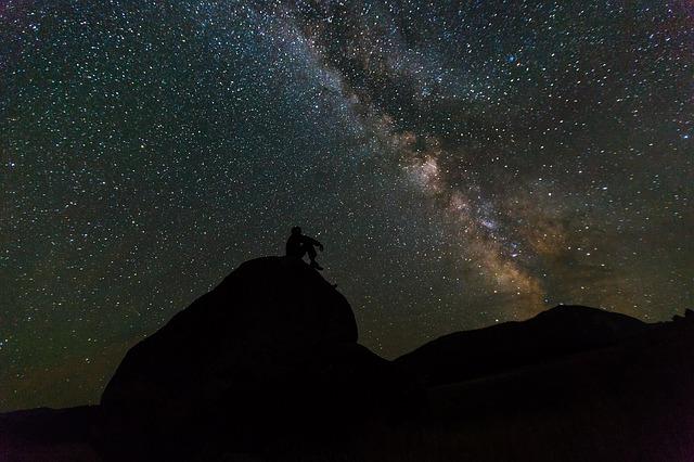 ¡Ay! Mira las estrellas en el cielo